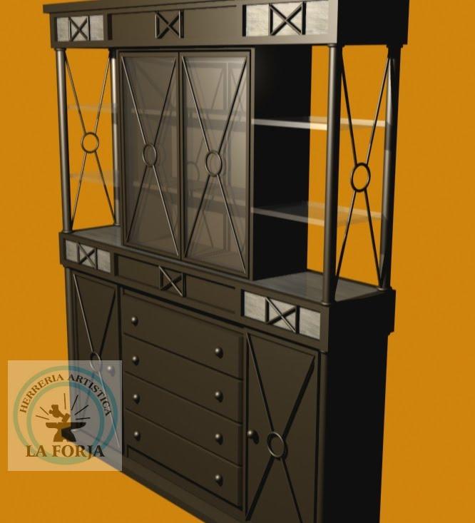 Muebles de herreria - Muebles para trasteros ...